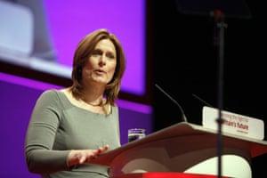 Sarah Brown: introducing her husband Gordon Brown at Labour Conference 2008