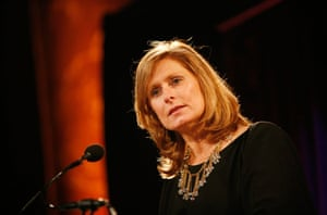 Sarah Brown: speaking at an event held by M Queen Rania Al Abdullah and Wendy Mudoch NY