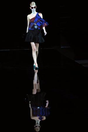 Milan fashion week: Giorgio Armani