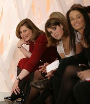 Sarah Brown: 2008: Sarah Brown and Princess Eugenie