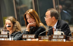 The wives of G20 leaders: French First Lady Carla Bruni-Sarkozy
