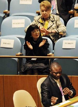 The wives of G20 leaders: Miyuki Hatoyama, the wife of Japanese prime minister Yukio Hatoyama