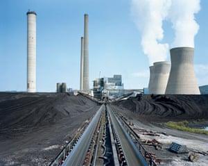 American Power: Amos coal power plant, Winfield, West Virginia 2007