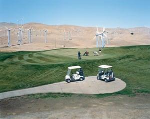 American Power: Altamont Pass wind farm, California, 2007