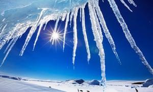icicle, iceberg