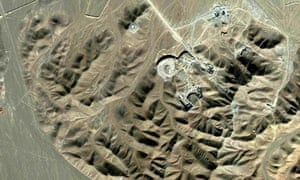 Uranium-enrichment facility near Qom, Iran