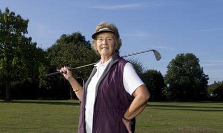 Diana Cornwell, oap golfer from Allington, Maidstone