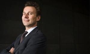 Shadow culture secretary Jeremy Hunt