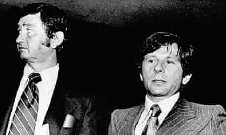 Roman Polanski, right, and his attorney Douglas Dalton