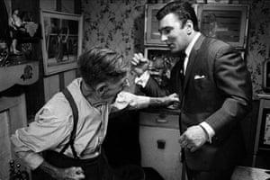Brian Duffy: Reggie Kray and grandfather (1964)