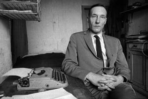Brian Duffy: William Burroughs, 9 Rue Git-le-Coeur, The Soft Machine (1960)