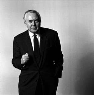 Brian Duffy: Harold Wilson, prime minister (1966)