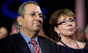 Ehud Barak and his whife, Nili Priell-Barak, at the annual Clinton Global Initiative in New York.