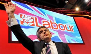 Gordon Brown at 2009 Labour Party Conference, Brighton