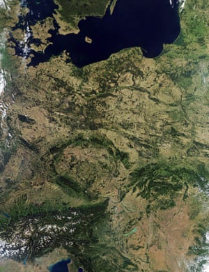 Satellite Eye on Earth: Central Europe