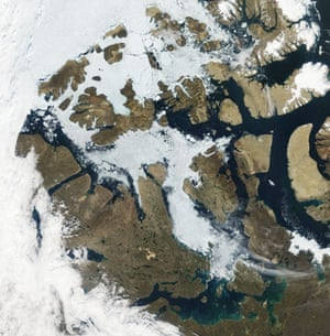 Satellite Eye on Earth: Northwest Passage, islands in the Canadian Arctic Archipelago, Canada