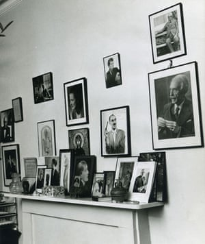 TS Eliot exhibition: TS Eliot's room 1965