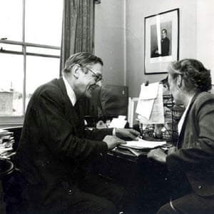 TS Eliot exhibition: TS Eliot and Faber secretary