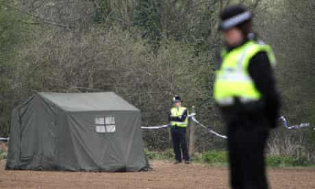Police officers in Edlington