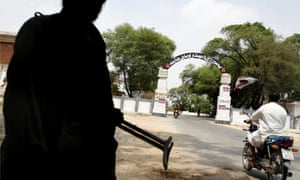Entrance to Mohmand agency in Pakistan where American citizen Jude Kenan Mohammad, 20, was arrested