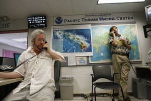 Tsunami in Samoa: Barry Hirshorn and Dr Gerard Fryer of NOAA