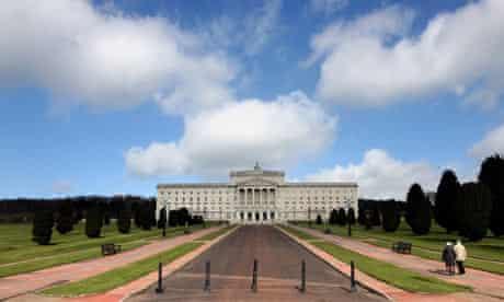 Parliament Buildings, Stormont, Belfast, Northern Ireland.