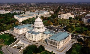 Capitol in Washington, DC, with the Senate and Congress