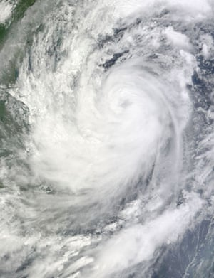 Satellite Eye on Earth:  floods in the Philippines, Tropical Storm Ketsana  South China Sea