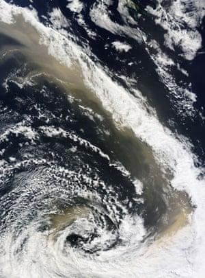 Satellite Eye on Earth: Dust storm Australia, New Zealand