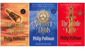 His Dark Materials trilogy, by Philip Pullman.