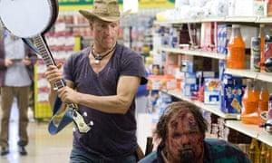 Harrelson in Zombieland