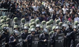 Chinese riots
