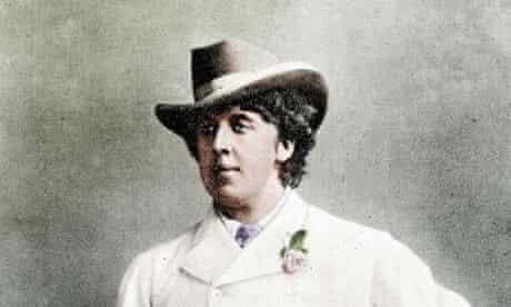 Oscar Wilde (1854-1900), Irish writer, in holidays