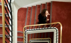 Blog lift: Woman walking up the stairs