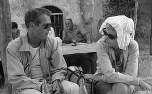 Paul Newman: Paul Newman with companion