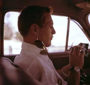 Paul Newman: Paul Newman driving