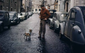 Paul Newman: Paul Newman and dog