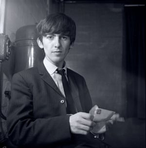 Jane Bown and The Beatles: George Harrison, backstage at East Ham 1963
