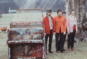 Jane Bown and The Beatles: The Beatles in Knole Park, filming The Magical Mystery Tour
