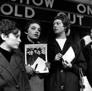 Jane Bown and The Beatles: Beatles fans in East Ham 1963