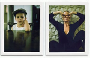 Observer Review Polaroids: Polaroids by Mary McCartney, right image of Stella McCartney