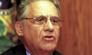 Former president of Brazil Fernando Henrique Cardoso