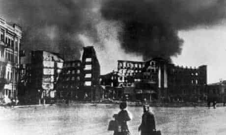 Second world war: Russian women in Stalingrad