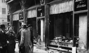 Second world war: The shattered fronts of Jewish-owned stores