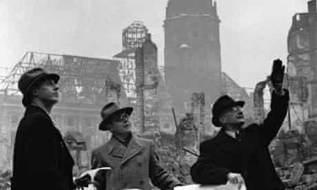 Second world war: Post-war Dresden
