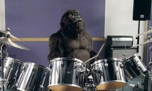 Cadbury's Dairy Milk TV advert featuring a gorilla