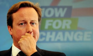 David Cameron speaks on the cost of Government