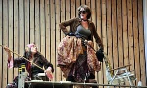 Sophie Stone and Fiona Shaw in Kushner's new translation of Brecht's Mother Courage