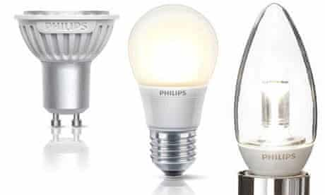 Electricity blog : New energy saving LED bulbs from Philips