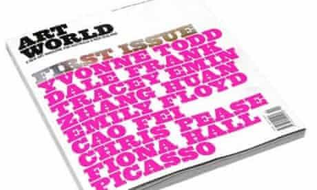 Art World Magazine first issue
